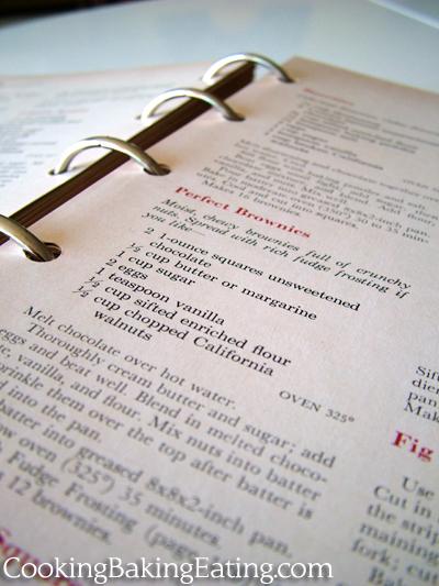 BHG recipe book