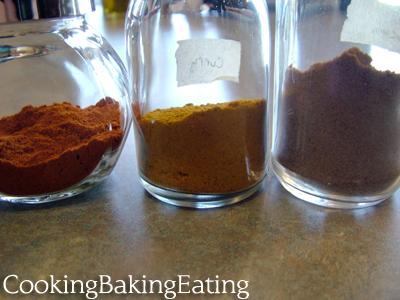 Pretty Spice Jars