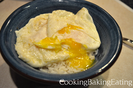 Fried Eggs On Rice