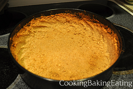 Lovely Pumpkin Cheesecake Crust
