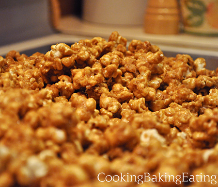 Almost Done Caramel Corn