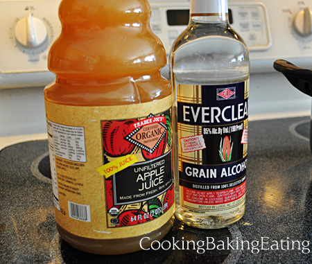 Apple Juice and Everclear