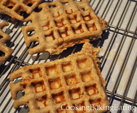 Oats and Groats Waffles