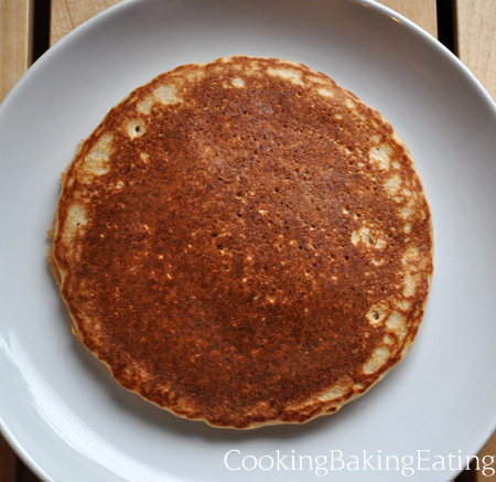 Oats and Groats pancake