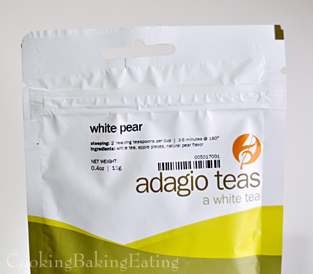 Adagio White Pear Tea
