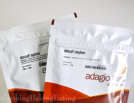 Adagio Decaf Spice and Decaf Ceylon Black Tea