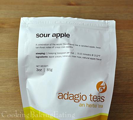 Adagio Sour Apple Herbal Tea Bag